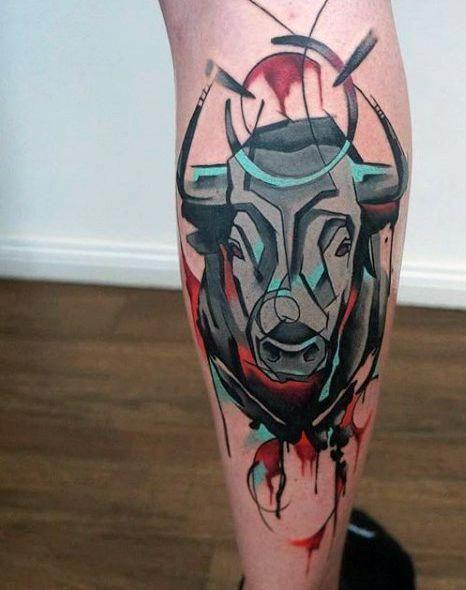 Tatouage Taureau Homme (7)