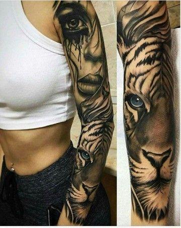 Tatouage Tigre Femme (5)