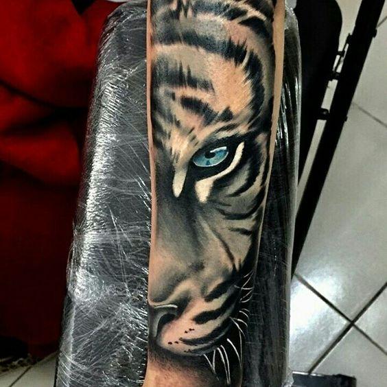Tatouage Tigre Homme (5)