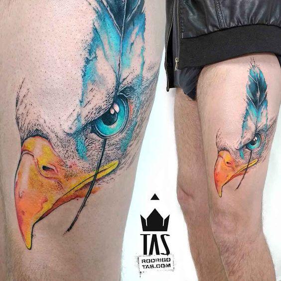 Tatouages Aigle Homme (16)