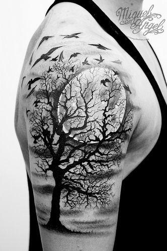 Tatouages Arbres (8)