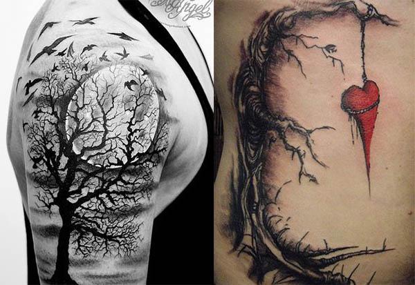 Tatouages Arbres (9)