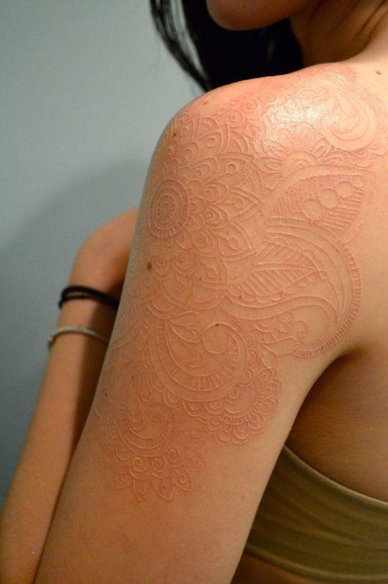 Tatouages Blancs (4)