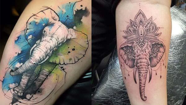 Tatouages Elephant (12)