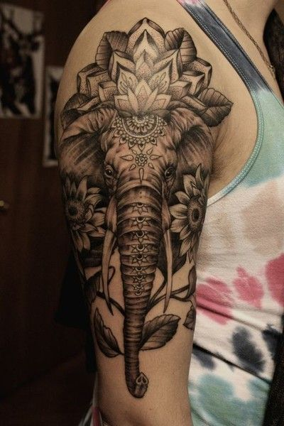Tatouages Elephant Homme (4)