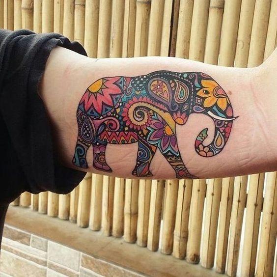 Tatouages Elephant Homme (7)