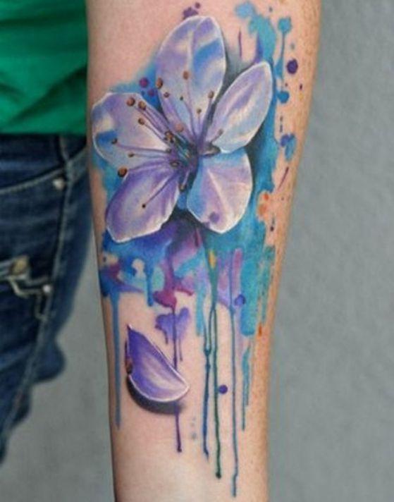 Tatouages Fleurs Bras (13)