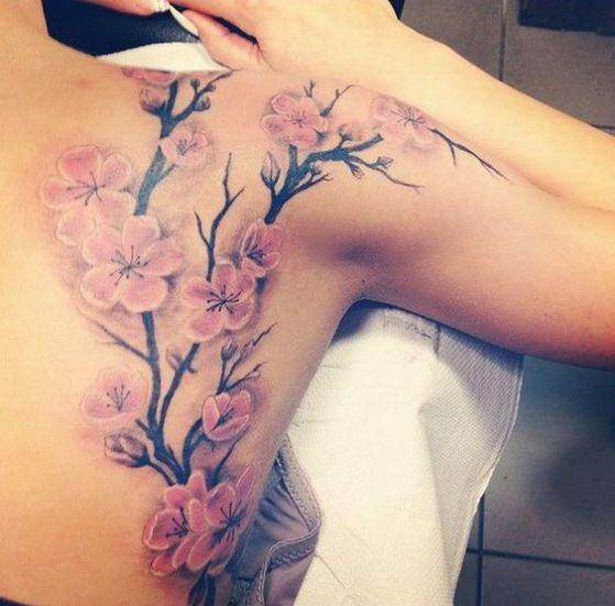 Tatouages Fleurs De Cerisier