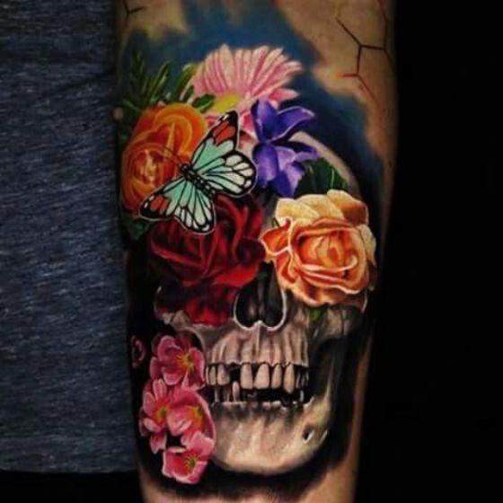 Tatouages Fleurs Homme (3)