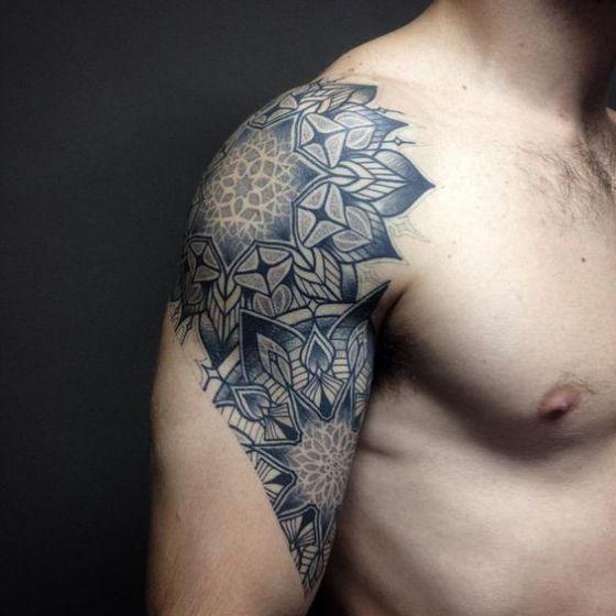 Tatouages Fleurs Homme (5)