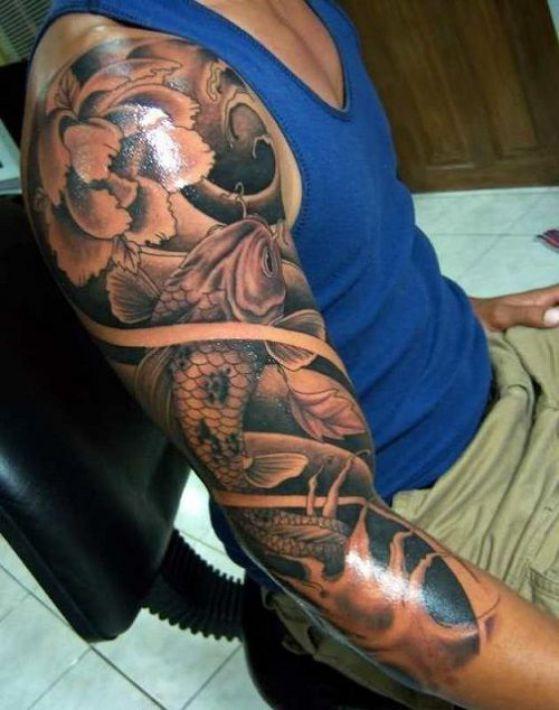 Tatouages Fleurs Homme (7)