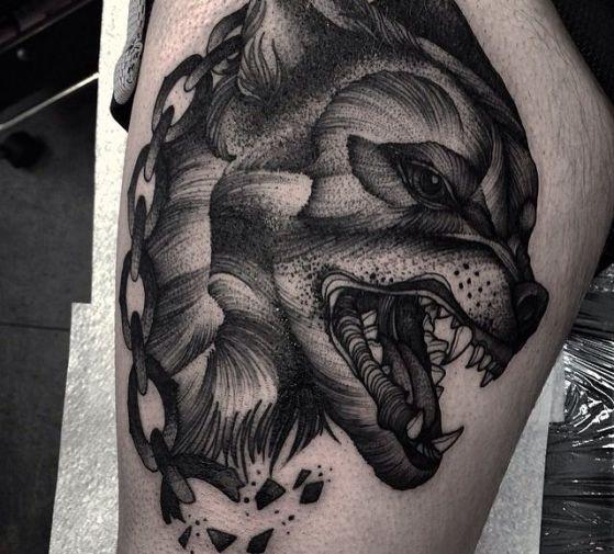 Tatouages Loup (10)