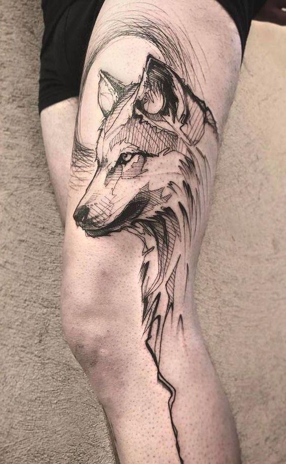 Tatouages Loup (4)