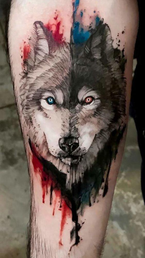 Tatouages Loup (9)