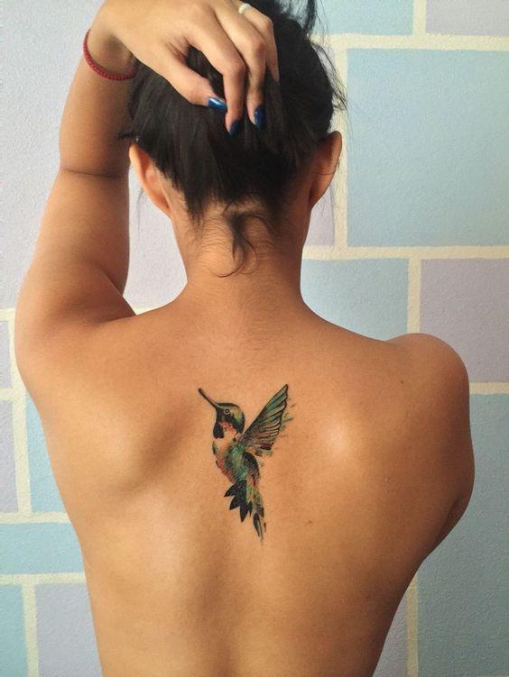 Tatouages Oiseaux Femme (4)