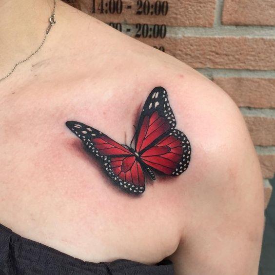 Tatouages Papillons 3d (1)