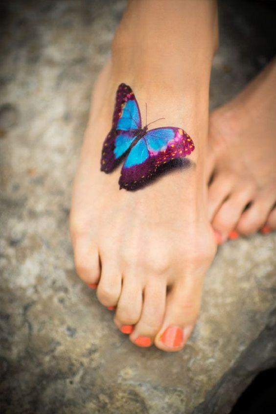 Tatouages Papillons 3d (2)