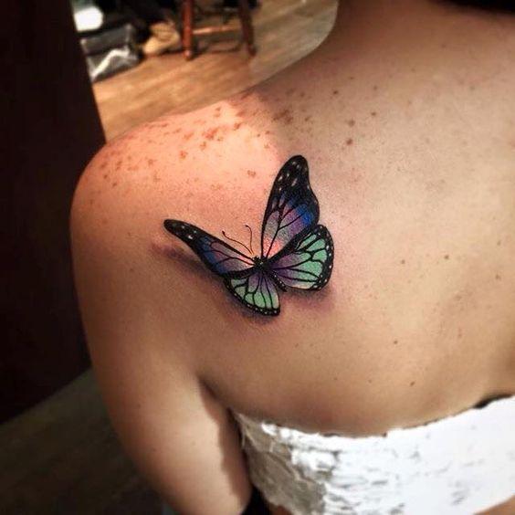 Tatouages Papillons 3d (3)