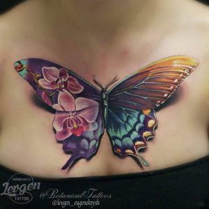 Tatouages Papillons 3d (6)