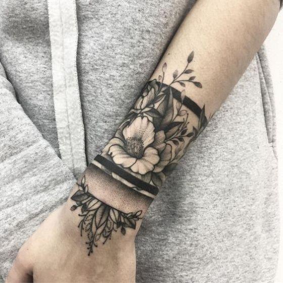 Tatouages Poignet Bracelet (4)