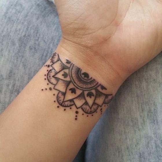 Tatouages Poignet Bracelet (7)