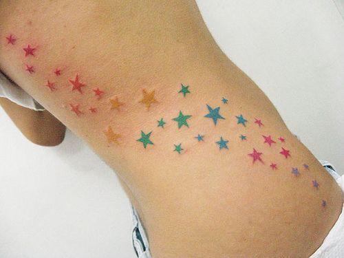 Tatouages Stars Femme (5)