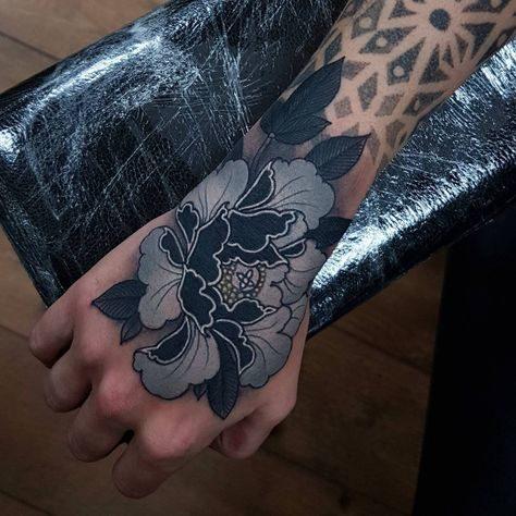 tatuajes de flores a color (11)